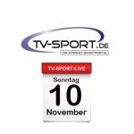 Das TV-Sport Tagesprogramm am Sonntag, 10.11.2019