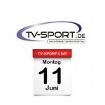 Alle Fußball Live-Übertragungen des Tages: Montag, 11.06.2018