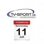 Das TV-Sport Tagesprogramm am Donnerstag, 11.07.2019