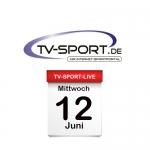 Das TV-Sport Tagesprogramm am Mittwoch, 12.06.2019