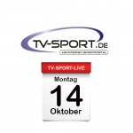 Das TV-Sport Tagesprogramm am Montag, 14.10.2019