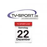 Das TV-Sport Tagesprogramm am Samstag, 22.12.2018