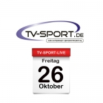 Das TV-Sport Tagesprogramm am Freitag, 26.10.2018