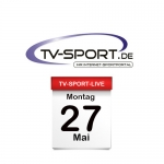 Das TV-Sport Tagesprogramm am Montag, 27.05.2019