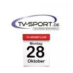 Das TV-Sport Tagesprogramm am Montag, 28.10.2019